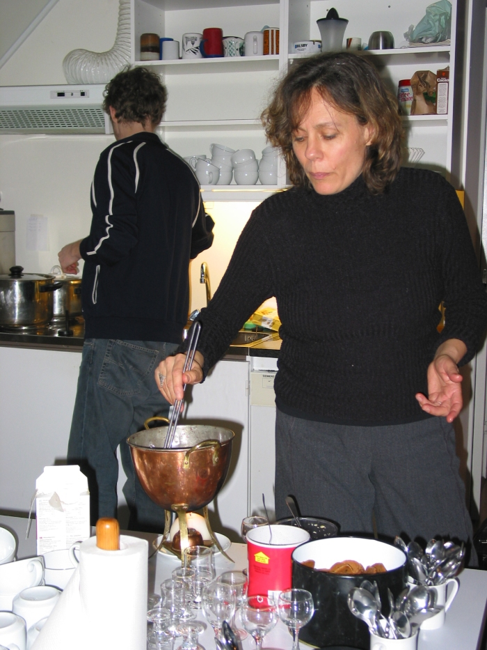 mbproject. Kerstin cooks for dialogue 2002