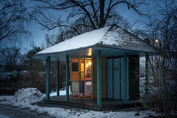 paviljong vinter